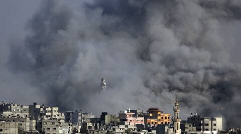Israel renewed strikes on Gaza soon after the ceasefire lapsed, saying it was in response to rocket fire by Hamas, which controls Gaza. (Source: AP)