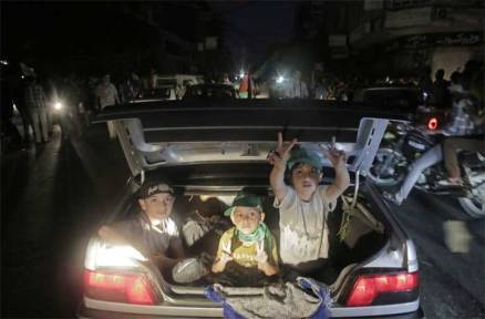 Truce at last: Gaza celebrates as Israel, Hamas reach ceasefire