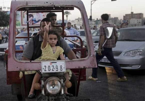 Truce at last: Gaza celebrates as Israel, Hamas reach ceasefire