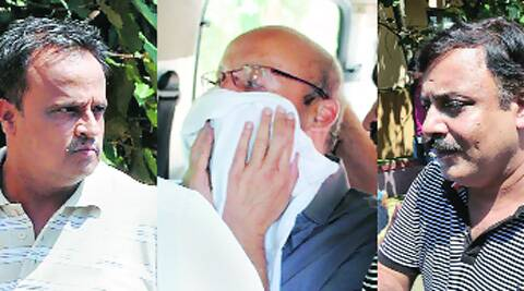 Vineet, Puneet allegedly took the 'bribe' on behalf of their brother-in-law, Syndicate Bank CMD  S K Jain. Source: PTI Photo