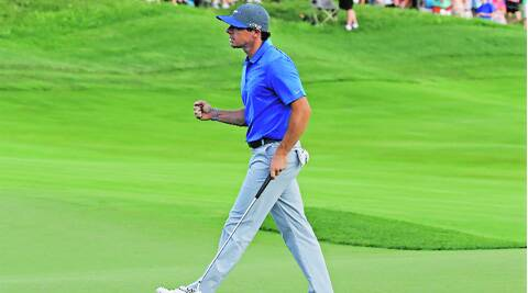 McIlroy birdied three of the last four holes to return a card of 4-under 67. (Source: AP)