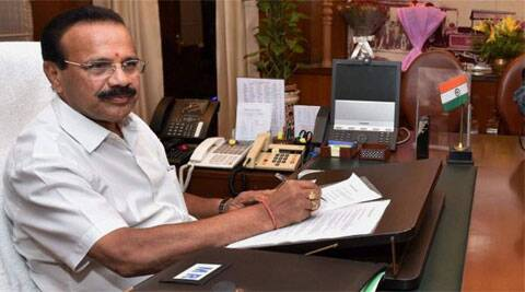 "Sadananda Gowda said his son has been ""falsely implicated"" in the matter. (Source: PTI)"