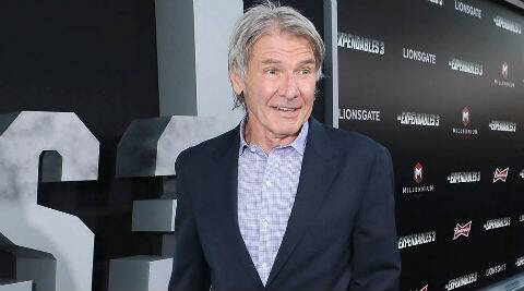 Harrison Ford had crushed his left leg on the set of 'Stars Wars: Episode VII' in June in London. (Source: AP)