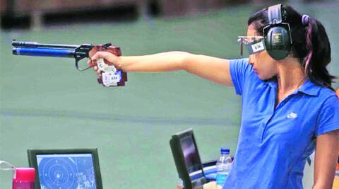 Former World No.1 Sidhu was disappointing in the 10m air pistol final at Glasgow