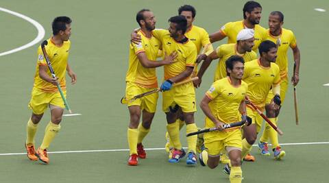India will take on Australia, the team which defeated India 8-1 in the 2010 final, in the final on Sunday. (Source: AP)
