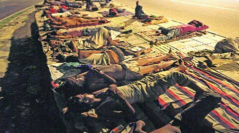 Govt is looking to identify spaces for 'open shelters'. ( Express photo )