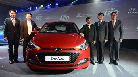 Hyundai i20 launch.