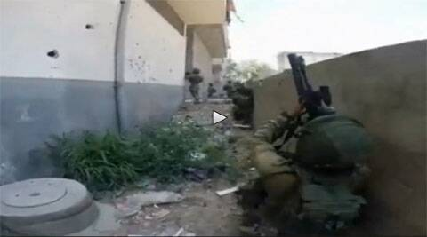 IDF released a video showing a raid by its Elite special forces in Sajya where they found sniper guns.