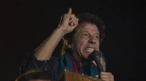 A five-member government team last night met with a six-member committee of Khan's party but the two sides failed to make any headway. (Source: AP)