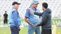 Fill in the blank: Selection headache return to India camp
