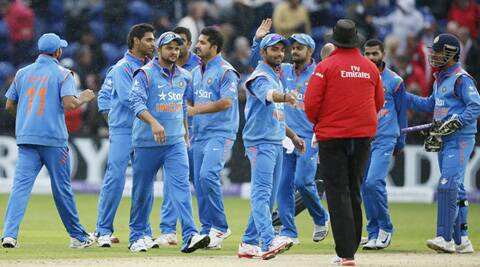 India need to win their remaining two matches to stay improve their chances of staying at top (Source: AP)