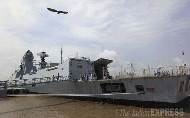 INS Kolkata gets ready ahead of commissioning