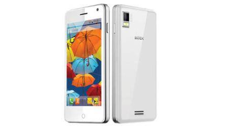 intex aqua style cheap android kitkat phone