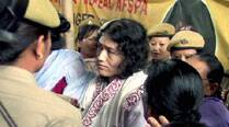 Three days after her release, anti-AFSPA activist Irom Sharmila re-arrested from protest site