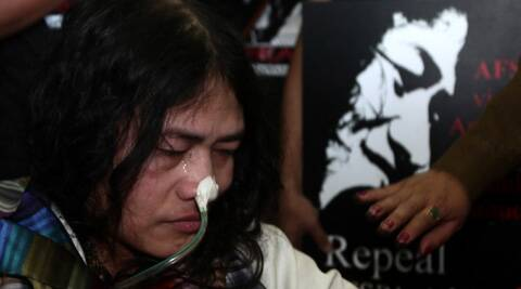Sharmila has already said that she never tried to commit suicide but was only demanding withdrawal of AFSPA from the state. (Source: Express news service)
