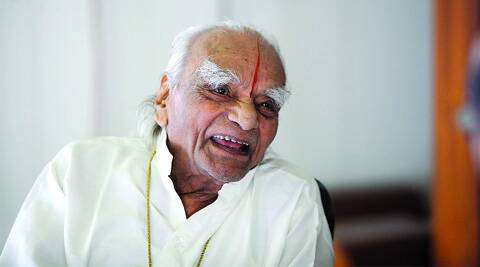 The legendary yoga guru was admitted to a city hospital on August 12 following complaints of acute breathlessness and palpitation, Dr Deepali Mande, who attended on him. (Source: Express photo)