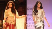 LFW: Jacqueline Fernandez turns bride for Anju Modi on ramp