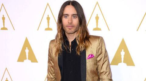 Jared Leto played the role of HIV-positive transgender woman in the movie. (Source: AP)
