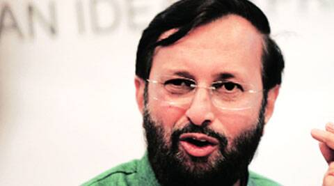 I don't like the word 'regulation' so there should be self mechanisms, Javadekar said. (Source: Express photo)