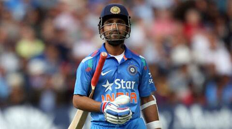 Rahane looked in sublime touch and stroked some mouthwatering boundaries in his innings. (Source: AP)