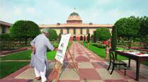 Jogen Chowdhury on how he sketched Rashtrapati Bhavan in tenminutes