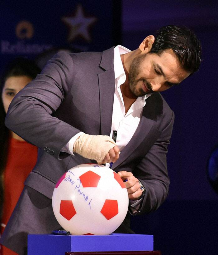 There is no dearth of star power in the ISL. John Abraham, who co-owns the North East United FC, has been very active in the team's affairs. He has already made it clear that his team would focus on making most of the local talent in the country, especially from the north-east (Source: PTI)
