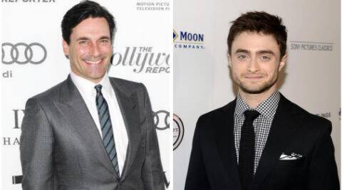 Jon Hamm appeared alongside Daniel Radcliffe in 'A Young Doctor's Notebook'. (Source: AP)