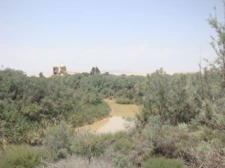 The muddy Jordan River (Source: Irena Akbar )
