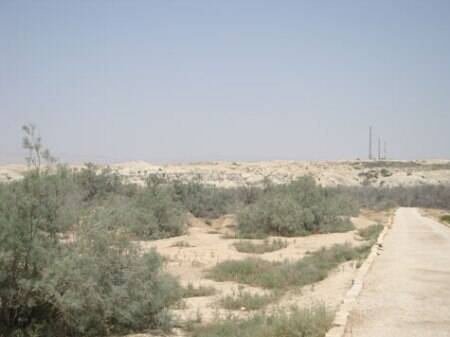 he land east of Jordan river (above) was once a site of war between Jordan and Israel. After the two countries signed a peace treaty in 1994, the area was cleared of landmines, and opened to archaelogists and tourists.  (Source: Irena Akbar )