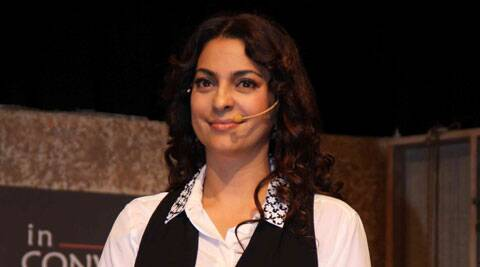 """""""I have not seen many people from films being able to do fiction,"""" Juhi said."""