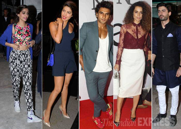 This week's Best Dressed has a few of the usual fashionistas like Kangana Ranaut and Sonam Kapoor. There were also a few surprises like Avantika Malik, Imran Khan, Ranveer Singh and Fawad Khan. Take a look!