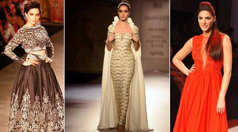 Bollywood's leading ladies Kangana Ranaut, Shraddha Kapoor, Nargis Fakhri and Esha Gupta will be seen sauntering down the ramp at the BMW India Bridal Fashion Week 2014, which begins on Thursday.