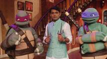 Kapil Sharma welcomes Ninja Turtles on his comedy show