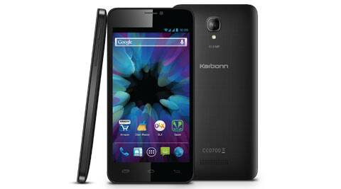 Karbonn Titanium S19 comes with a selfie camera
