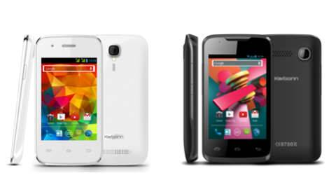 Both Karbonn A1+ Super and A5 Turbo runs on Android 4.4 KitKat OS