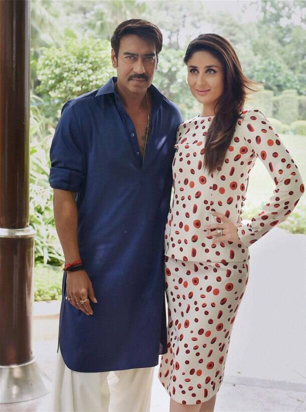 'Singham' Ajay Devgn is city hopping with lady-love Kareena Kapoor