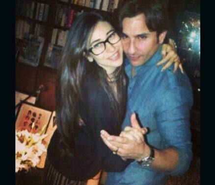 Saif Ali Khan celebrates birthday with wife Kareena, sister-in-law Karisma