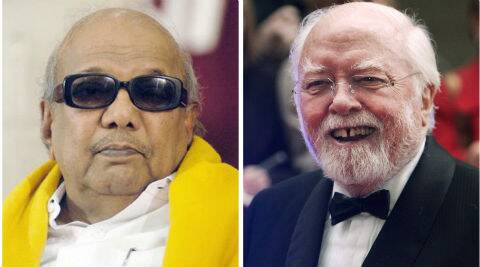 Karunanidhi said Attenborough had achieved popularity inIndia and abroad after his film 'Gandhi'.