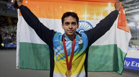 Kashyap came back to win the first match point and then held his nerve while serving for the match. (Source: PTI)