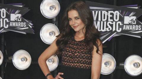 Katie Holmes: I just approach life (taking) it one day at a time. (Source: Reuters)