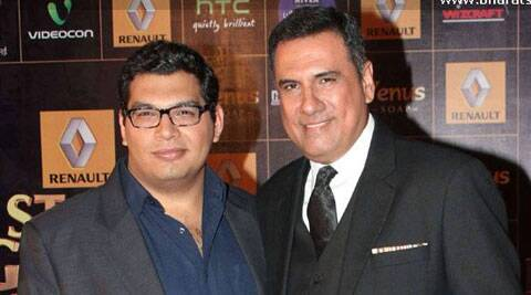 Actor Kayoze Irani has begun dubbing for his third Bollywood project 'The Legend of Michael Mishra', which will see his father Boman Irani in a cameo appearance.
