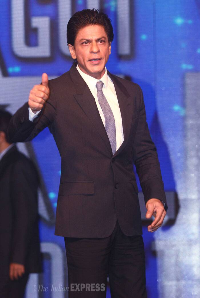 Superstar Shah Rukh Khan is returning to the small screen as a host for a talent-based reality show. (Source: Varinder Chawla)