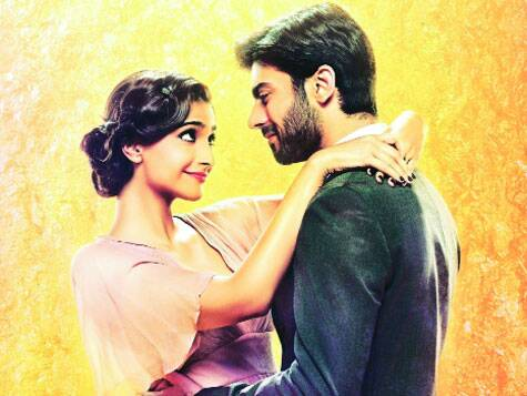 A still from the film Khoobsurat