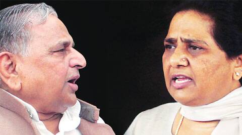 In 1993, the BSP and the SP had joined hands and Mulayam gone on to head the government, but they broke up.