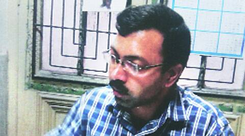 Sunil Kumar Upadhyay, head of preservation, missing since July 3.(Express)