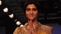 Lakme Fashion Week 2014: Konkona Sen Sharma turns golden girl for Anavila