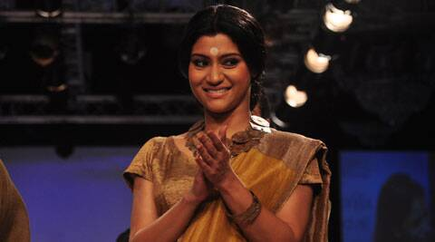 Versatile actress Konkona Sen Sharma, who has been maintaining a low profile for a while now, has been busy writing a script and says she hopes to wield the megaphone soon. (Source: Varinder Chawla)