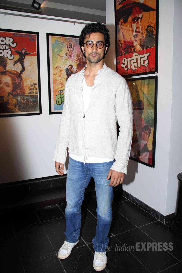 Actor Kunal Kapoor was also present. (Source: Varinder Chawla)