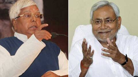 It calls itself 'maha' or grand, but the Nitish-Lalu tie-up was not an act of political creativity or ambition.