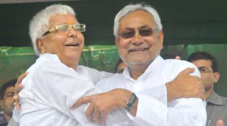 Lalu and Nitish are now hard-pressed to find out common electoral agenda.(Source: Express Photo by Prashant Ravi)
